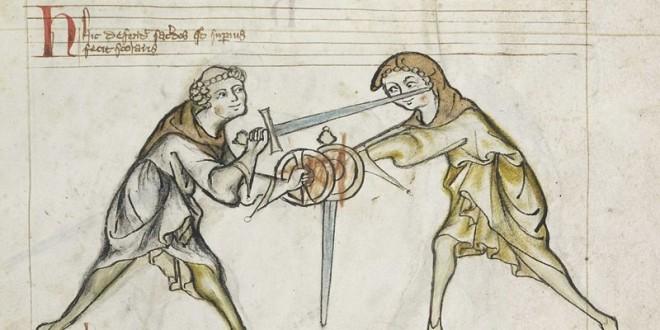 Svärd och bucklare